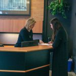 London downtown office reception and concierge